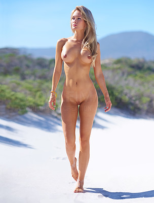 Ejoying the sunshine... all over! As nude as nature intended