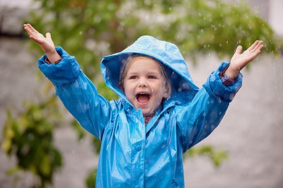 Happiness is dancing in the rain