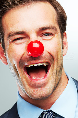 Happy as a clown in the corporate world