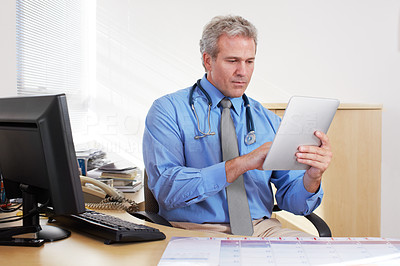 Using modern technology to aid his patient management