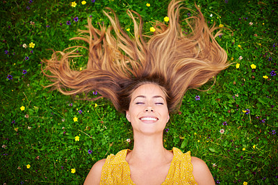 When you\'re happy everyday is a good hair day