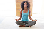 Meditation- her wellness secret