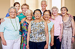 They're a close-knit community of seniors