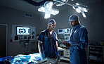 Successful surgeons operate best using teamwork