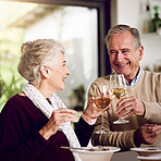 Toasting their golden years