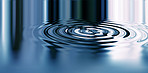 Cold clean rippling water