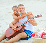 Sweet sounds on the sand