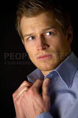 Buy stock photo Worried Businessman