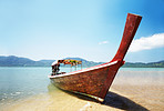 Traditional Thai boat