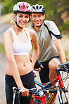 Biking pair