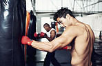 He's dedicated to the sport of boxing