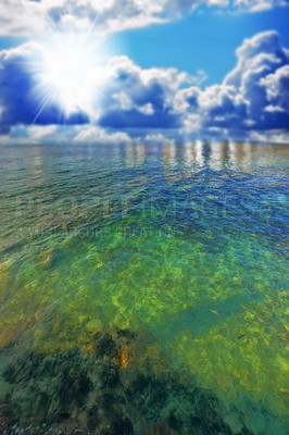 Buy stock photo An icon photo of tropical ocean