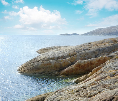 Buy stock photo A photo of a Fjord in Bodo - Norway