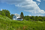 Quaint cottage in the nordic countryside