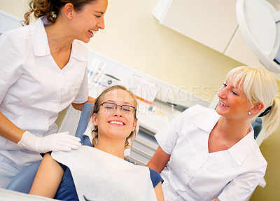 Buy stock photo Visit at the dentist