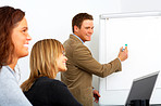 Business presentations with a creative outlook
