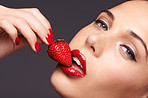 Sensuous strawberries