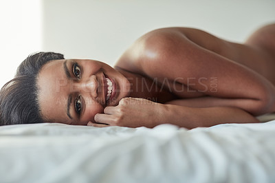 Buy stock photo Shot of a sexy young woman