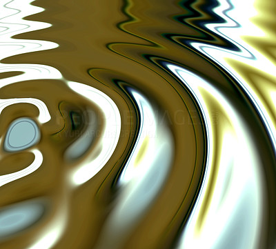 Buy stock photo Smoothly animated 3D image of circular waves expanding