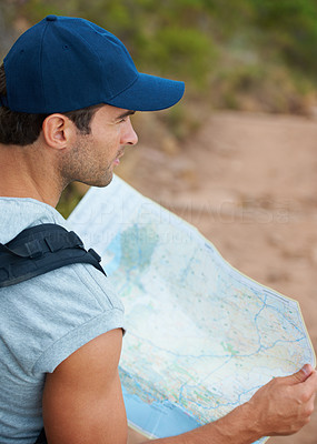Mapping his journey