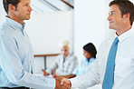 Business deal - Professionals shaking hands