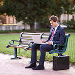 Park bench office