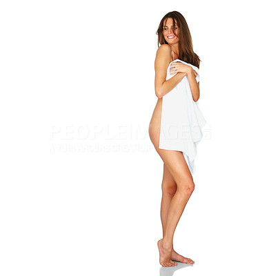Buy stock photo Sexy young nude female model posing