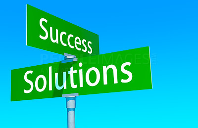 Road signs to success and solutions