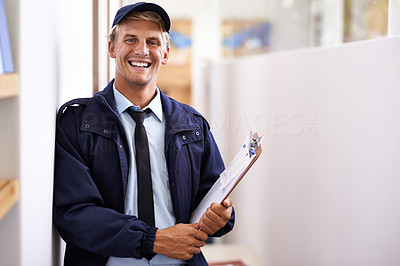 He\'s a delightful delivery man