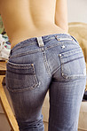 Girl with Jeans