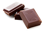 Delicious close-up of chocolate