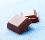 Delicious close-up of chocolates
