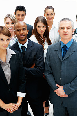 Buy stock photo Diverse group of executives