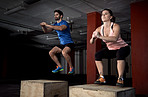 Plyometrics - not for the faint of heart!