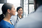 The team rapport you'd want your doctors to have