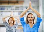 Yoga is the best cure for a stressed mind