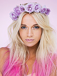 The queen of pinks and purples