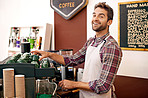 Making the best coffee with the best smile