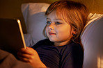 Reading my bedtime story online