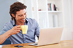 My morning ritual of checking my e-mails