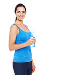 Taking on liquids regularly helps during exercise