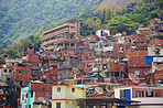 The crowded parts of Rio