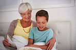 Story time with gran