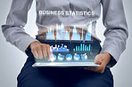 Analyzing business data with the help of technology