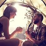 This tent is like a home away from home