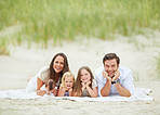 Happy beach memories with the family