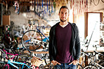 Let him handle all your bicycle repair needs