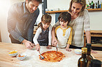 Kitchens are made for bringing families together