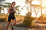 Experience nature with a trail run