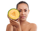 Healthy eating is her skincare secret
